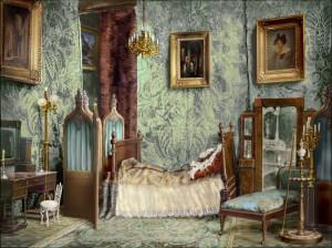 спальня домика Нащокина